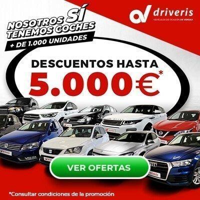 Nosotros sí tenemos coches | Descuentos de hasta 5.000 € | Driveris